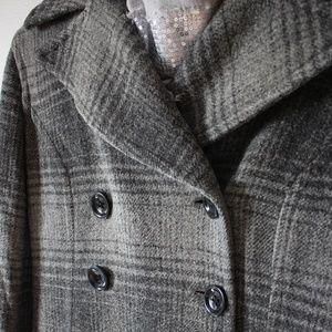 Gray Check Fall Jacket